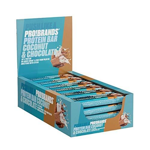 Probrands Protein Bar, Coconut, 1.08 kg