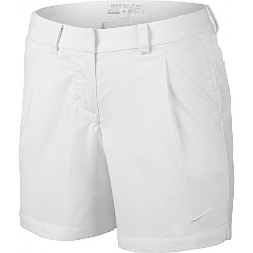 Nike Oxford Women's Golf Shorts 725763 100 White (12)