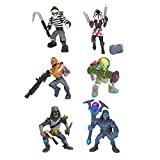 Fortnite Battle Royale Collection: Best of Solo - Scoundrel, Leviathan, Bandolier, Cloaked Star, Omen & The Ace - 6 Packs of Action Figures