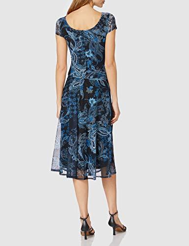 Desigual Vest_Capri Vestido Casual, Azul, S para Mujer
