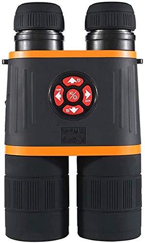 Gafas telescópicas de visión nocturna, binoculares digitales de visión nocturna, visión nocturna diurna y nocturna para foto y video, GPS, iluminación infrarroja, brújula electrónica, 100% cla