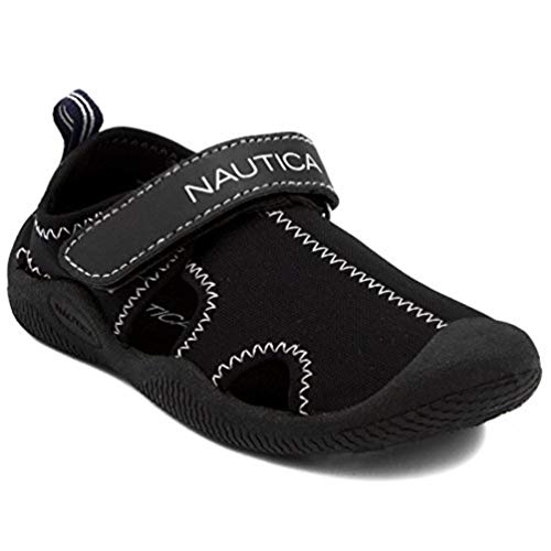 Nautica Kids Kettle Gulf Protective Water Shoe,Closed-Toe Sport Sandal-Kettle Gulf-Navy Heather Print-10