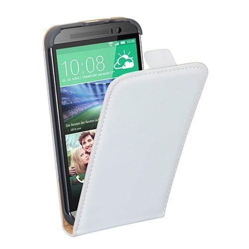 Pedea Hülle für HTC One M8 (One 2) / HTC One M8s peralweiß