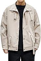 Allthemen Jacke Herren Übergangsjacke mit Revers Herbst Freizeit Jacket für Jungen Männer