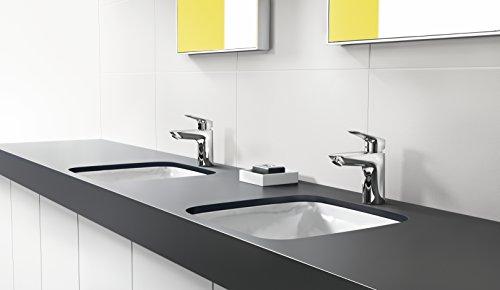 Hansgrohe – Waschtischarmatur, Push-Open Ablaufgarnitur, Chrom, Serie Logis 100 - 2