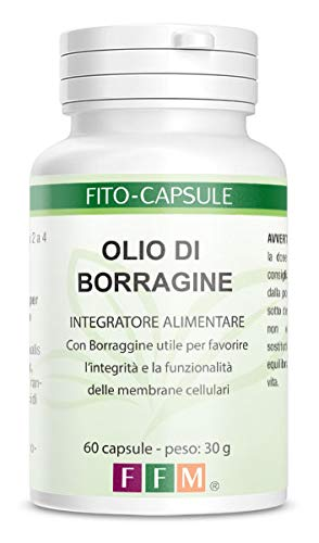 Fitofarmaceutica Borragine Olio - 60 Capsule Gelatina Vegetale