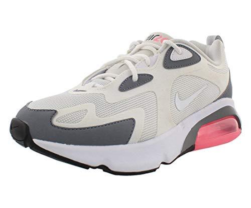 Nike W Air Max 200, Chaussures de Trail Femme, Gris Pure Platinum White Cool Grey, 37.5 EU