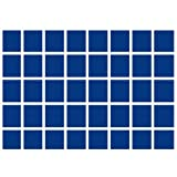 1x SAFE 5903-1 ECHTHOLZ MÜNZKASSETTEN / SCHUBLADEN - 40 x Fächer 30 mm quadratisch Einsätze in blauen Velour- 1-fach-hoch passend zur SAFE 6590...