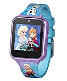Official frozen Kid's smartwatch with selfie-cam, voice recorder, 3x games, pedometer, alarm, stopwatch, and calculator Fun selfie-cam and video, Download your awesome photos and videos - share These priceless moments with friends and family in a saf...