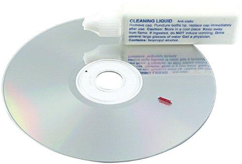 PEARL Reinigungs CD: Linsenreiniger-Set für CD-/DVD-Laufwerke und CD-/DVD-Player (Reinigungs DVD)