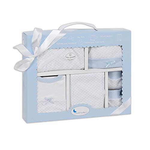 Interbaby SET02-01- Set Primera Puesta 5 Piezas Azul