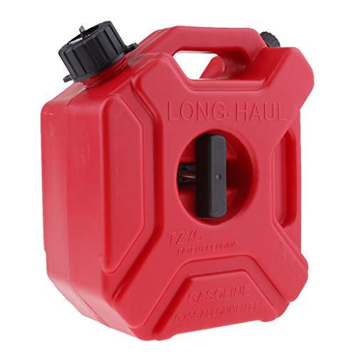 H HILABEE 3L Tragbar Weithalskanister/Abklärkanister/Mehrzweckkanister für Kompressorenöl Spindelöl Traktorenöl usw, Benzinkanister als Auto Zubehör