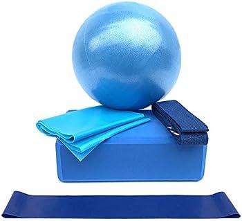 Lixada Yoga Ball Chair Equipment Set