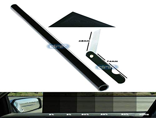 DNF 1 PLY Black 35% 20' X 10 Feet Window Tint Dyed Film with Free...