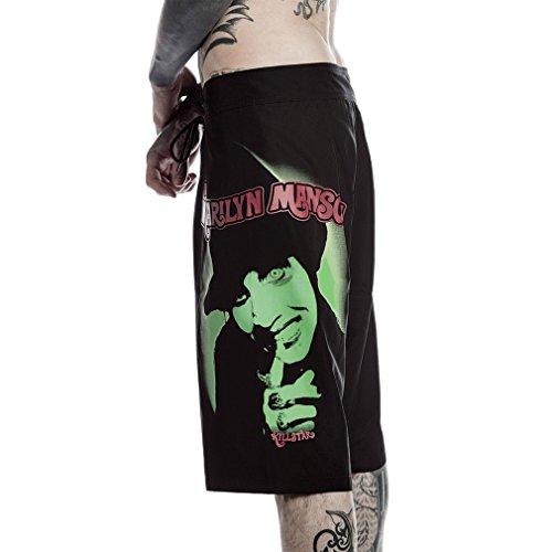 Killstar X Marilyn Manson Board Shorts - Fiend XS