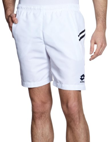 Lotto Short pour homme Blanc Blanc/bleu marine 58