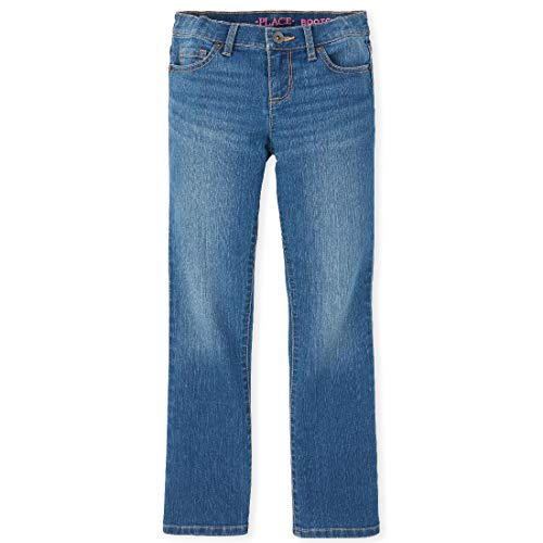 The Children's Place Girl's Basic Bootcut Jeans, Md Lara Wash