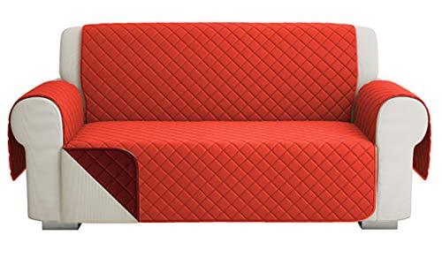 Fundas para Sofa Acolchado, Funda De Sofas 2 Plazas (120 CM)