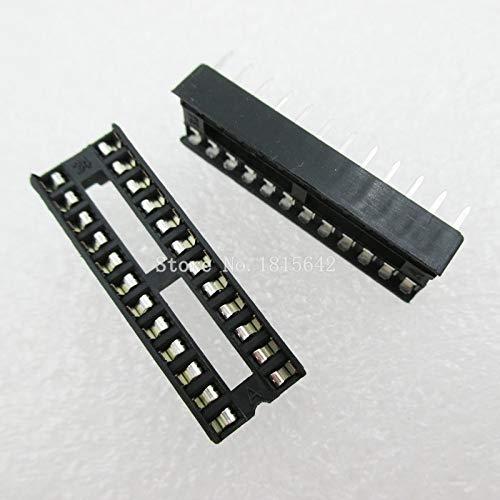 20PCS/LOT 24 Pin DIP SIP-SteckDosen Adaptor Lötart schmale IC-Steckdose