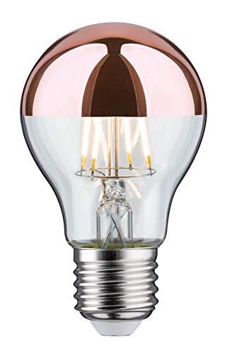 Paulmann 28671 LED Lampe Filament AGL 6,5 Watt Leuchtmittel Kopfspiegel Kupfer 2700 K Warmweiß E27