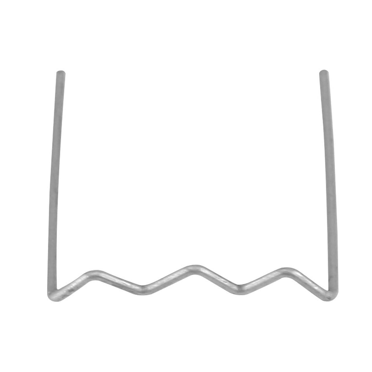 公平ななめらかな見落とすQiilu 【100ピース】 0.6mm 電熱ピン 溶着ピン 溶接ステープル ヒートリペアキット用 (Sスタイル)