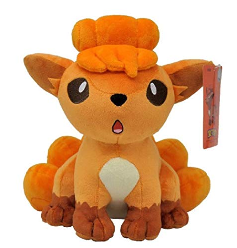 ADIE Pokemon Vulpix Plush Toy 24cm, Animal Plush Stuffed Toy Gifts for Children