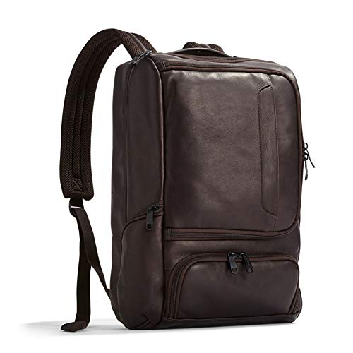 eBags Professional Slim Laptop Backpack - LTD Edition Colombian Leather (Brown)