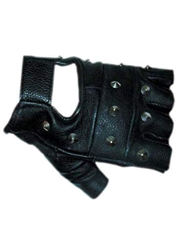 armardi b Sin dedos guantes de piel con tachuelas, otoño-invierno 14, Hombre, color multicolor, tamaño X-Large (Ropa)