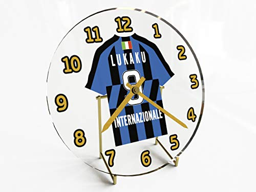 MyShirt123 Serie A - Italian Football Shirt Desktop Clocks - Any Name, Any Number, Any Team - Free Personalisation !!