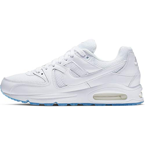 Nike Herren AIR MAX COMMAND Hallenschuhe, Weiß (WHITE_112), 44 EU