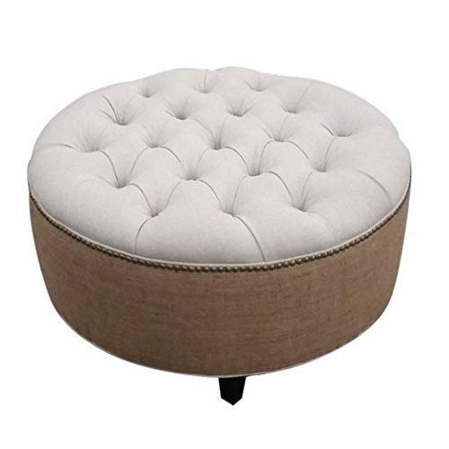 Tufted All items in the store Round 2021new shipping free Ottoman 30