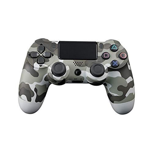 black Rose Wangweiming Ajuste para el Controlador de Sony PS4 Gamepad de vibración Bluetooth para Playstation 4 Detroit Joystick Wireless para PS4 Games Console WWM (Color : White Camouflage)