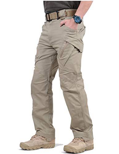 GooDoi Arbeitshosen Männer Military Pants Tactical Hose Arbeitshose für Mann Cargohose Männer Combat Outdoor-Hose für Camping Wandern