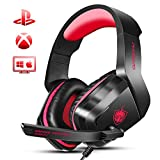 Xbox One Gaming Headset, PHOINIKAS H1 Wired Gaming Headset for PS4, PC, Laptop