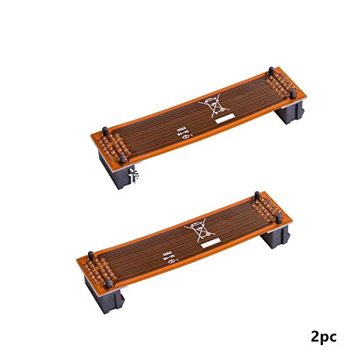 Kyerivs 2 Way SLI Bridge Flexible, 3 Slot SLI Crossfire Connector for ASUS, Nvidia Graphics Card (80mm 2pc)