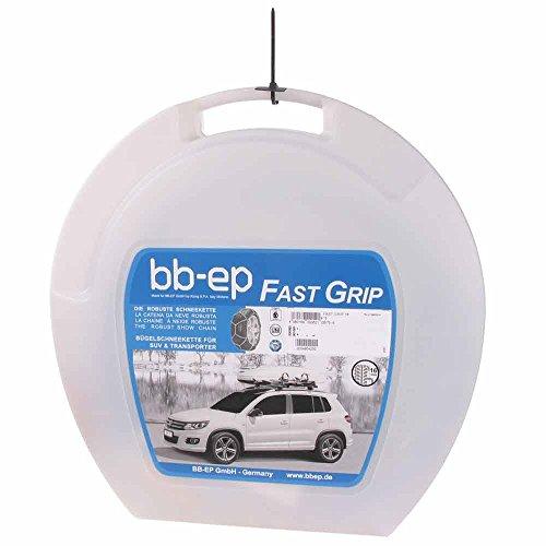 BB-EP Fast Grip 16–295/35–21 – La 16 mm Robuste de chaîne à Neige pour Les pneus Taille 295/35 R21 – Certifié TÜV, ö Norme (fabriqué en Italie)