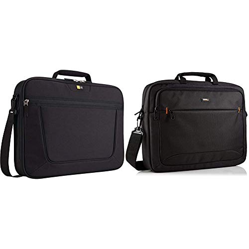 Case Logic VNCI217 Notebook Case 43,9 cm (17,3 Zoll) Schwarz & Amazon Basics NC1406118R1 Laptop-Tasche, für eine Bildschirmdiagonale von 44 cm (17,3 Zoll) Schwarz