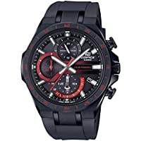 Casio Edifice Mens Black Stainless Steel Bracelet Watch