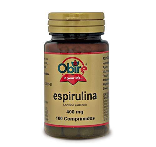 Obire | Espirulina 400 mg | 100 Comprimidos