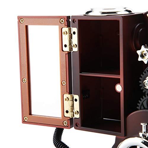 FOLOSAFENAR Estuche de Almacenamiento, joyero de Viaje con Forma de proyector para Accesorios de joyería de decoración