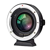 VILTROX マウントアダプター EF-FX2 0.71X スピードブースター レンズ交換アダプター AFオートフォーカス 自動絞り 手振れ補正 キャノンEFレンズ→フジ Xマウントカメラ装着用