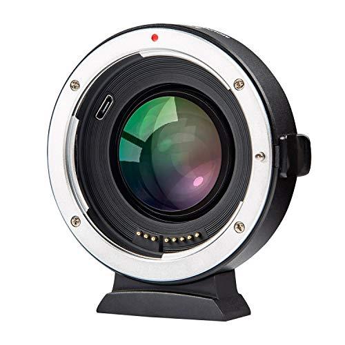 Viltrox EF-FX2 Autofokus Objektivadapter 0,71x Fokusreduzierer Speed Booster für Canon EF Mount Lens to Fuji X-Mount Mirrorless Camera X-T3 X-T2 X-T20 X-T10 X-T100 X-PRO2 X-E3 X-A20 X-A5