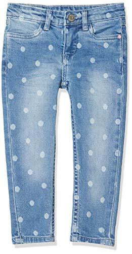 Noppies Mädchen G Regular fit Pants 5-Pocket Clinton Jeans, Blau (Light Blue Denim P113), (Herstellergröße: 104)
