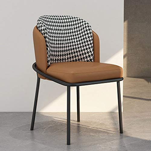 HXiaDyG Esszimmerstühle Startseite Dining Chair Cafe Stuhl for Wohnzimmer und EIN Esszimmer Esszimmermöbel (Farbe : Six, Size : 59x53x83cm)