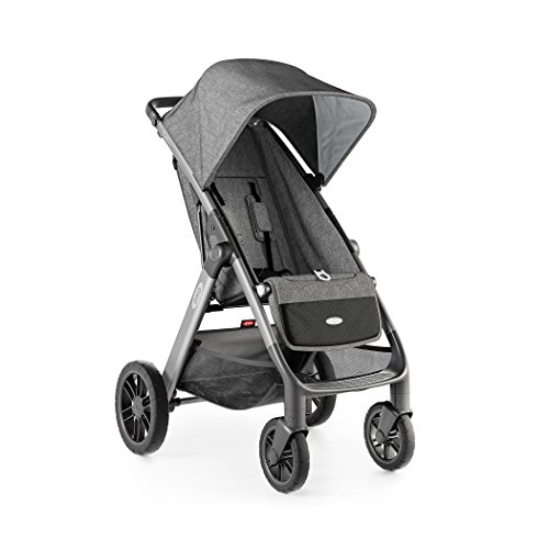 New OXO Tot Cubby Plus Stroller, Heather Gray