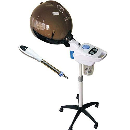 Salon 2 en 1 Abdominales Vaporizador de Pelo Vapor Facial Pulverizador de Niebla Niebla Herbal SPA Máquina de Vapor Instrumento de Belleza Piel de la Cara Herramientas de Cuidado