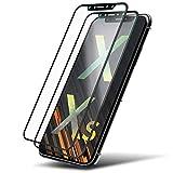 UTECTION 2X 3D Full Screen Schutzglas Folie für Apple iPhone X/Xs - Schutzfolie 9H - Deckt das...