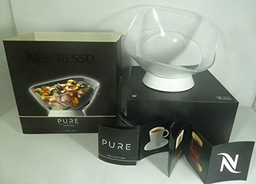 Nespresso PURE Rock Kapseldispenser Kapselaufbewahrung / Kapselspender (Lieferung ohne Kapseln)