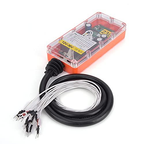 Controlador remoto industrial inalámbrico de tres pruebas de control remoto industrial interruptor con 44 llaves para maquinaria minera (12V-36V)
