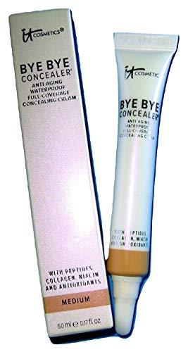 of it cosmetics concealers It Cosmetics Bye Bye Concealer Anti-Aging, .17 Fl Oz, Medium